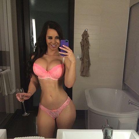 Taisha Marie, a gostosa do instagram pelada caiu na net 5