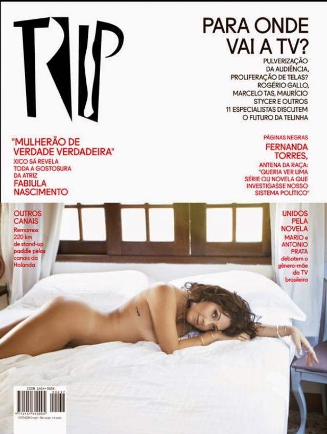 Fabíula Nascimento pelada nua revista trip sexo 1