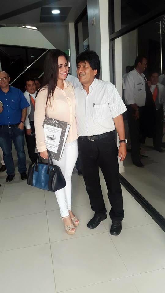 Vereadora Susana vaca concejal presidente Evo Morales caiu na net fotos 4