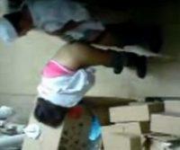Funcionários flagrados transando no depósito da empresa