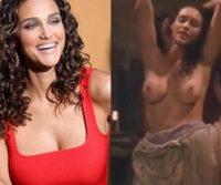 Atriz Débora Nascimento pelada em cenas de sexo