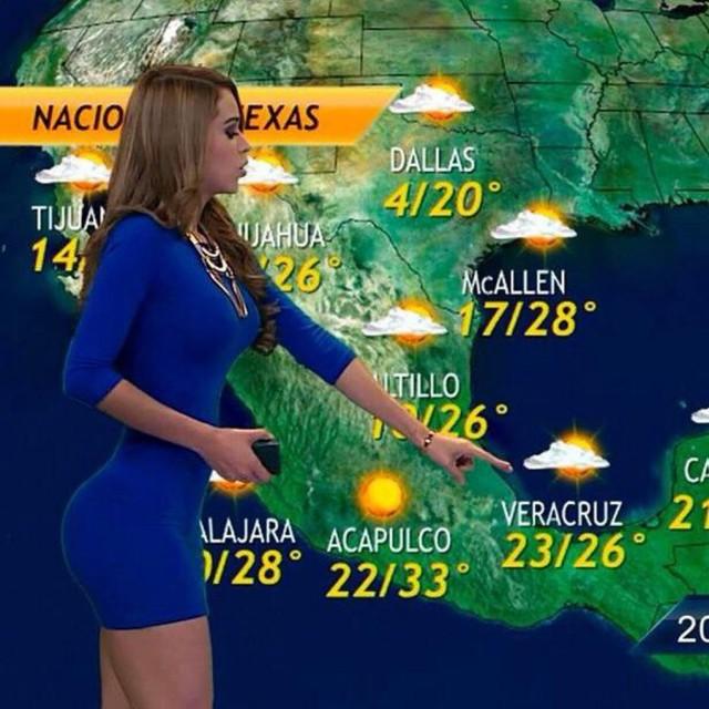 Yanet Garcia, a garota do tempo que faz as temperaturas subirem 4