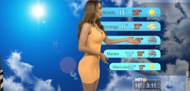 Yanet Garcia, a garota do tempo que faz as temperaturas subirem 7