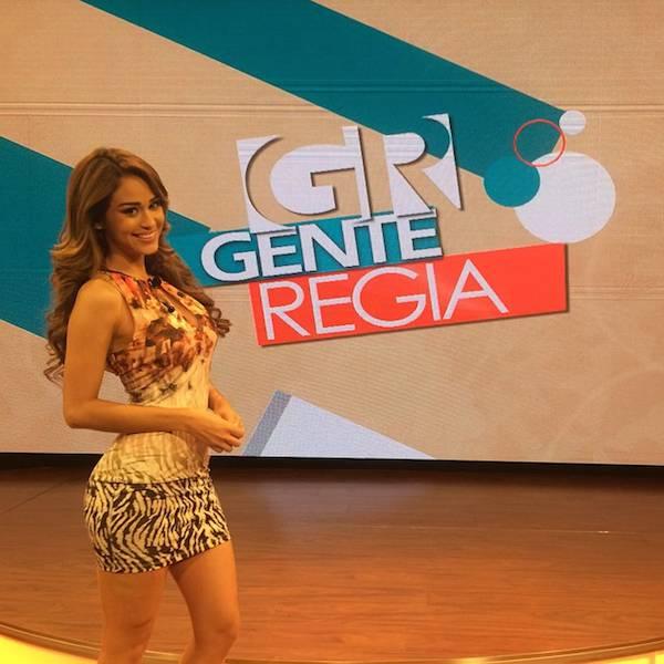 Yanet Garcia, a garota do tempo que faz as temperaturas subirem 8