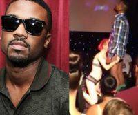 Cantor Ray J ganhou boquete de uma stripper no palco durante show