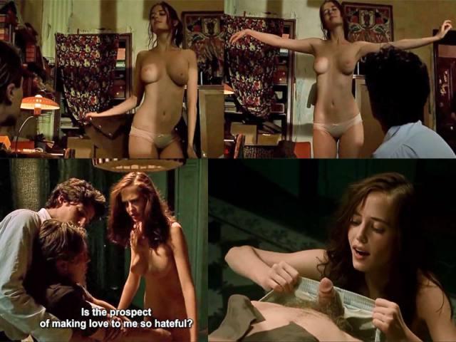 Atriz Eva Green Artemísia de 300 a ascensão do império pelada em cenas de sexo 10