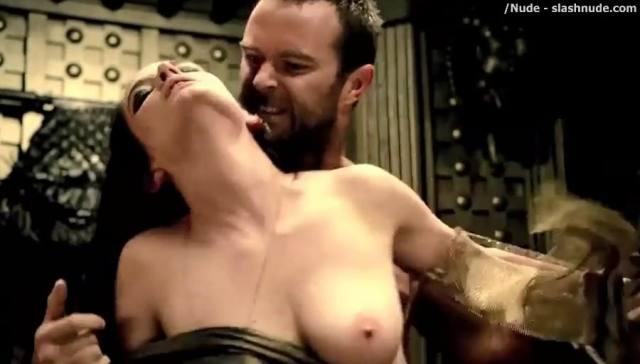 Atriz Eva Green Artemísia de 300 a ascensão do império pelada em cenas de sexo 2
