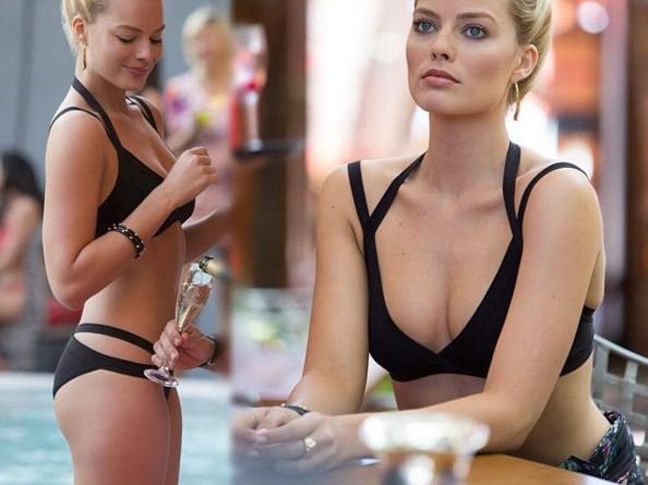 Atriz Margot Robbie a Arlequina de Esquadrão Suicida pelada em cenas de sexo 2