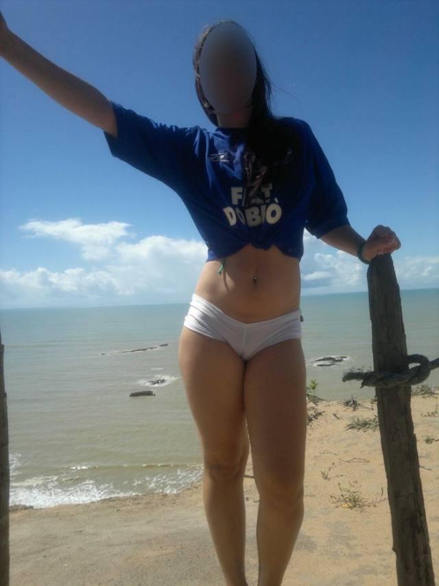 Branquinha muito gostosa da Bahia caiu na net 2