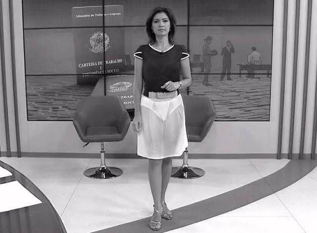 Raio-X mostra a calcinha das apresentadoras de TV 2