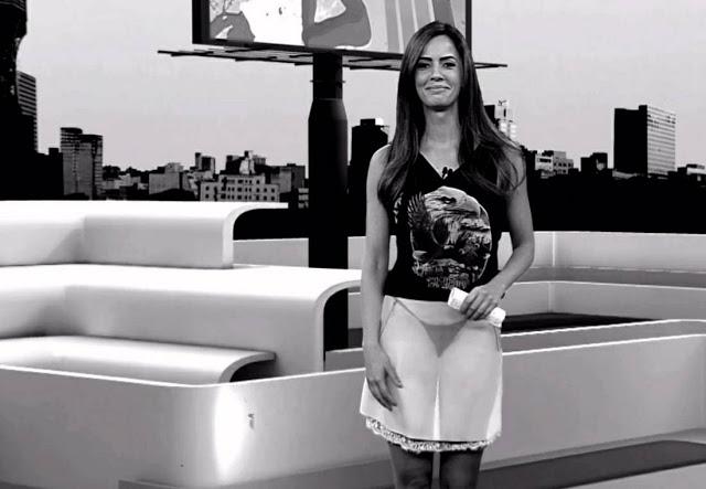Raio-X mostra a calcinha das apresentadoras de TV 5