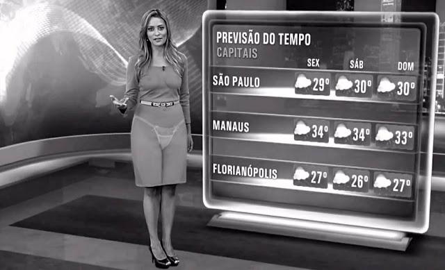 Raio-X mostra a calcinha das apresentadoras de TV 6