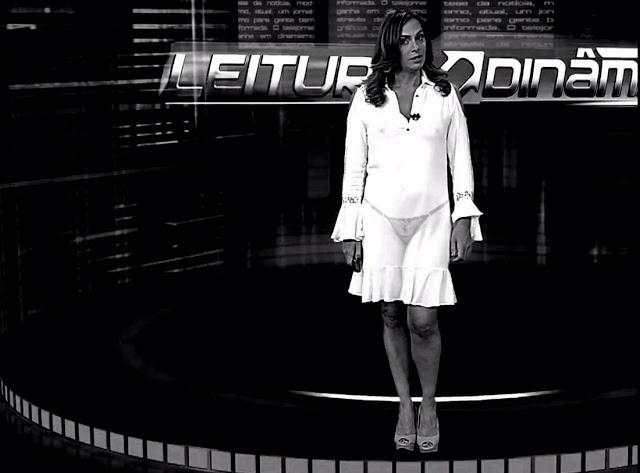 Raio-X mostra a calcinha das apresentadoras de TV 7