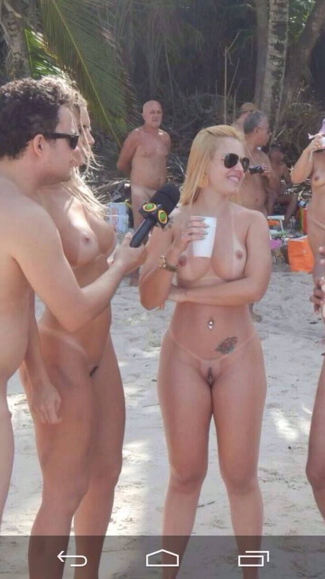 Mendigata Pelada na Praia de Nudismo Tambaba 5