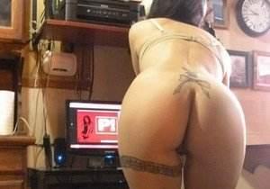 Morena gostosona tatuada caiu na net