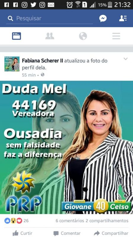 PRP Duda Mel Vereadora Caiu na net 2