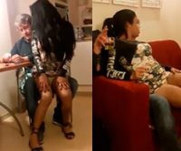 Alexandre Borges é flagrado com travestis em festinha; Vídeo!