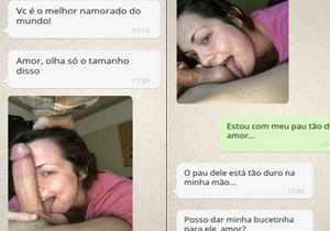 Conversa de Whats entre esposa liberada com marido corno - http://www.naoconto.com