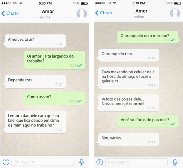 marido chicas putas con whatsapp