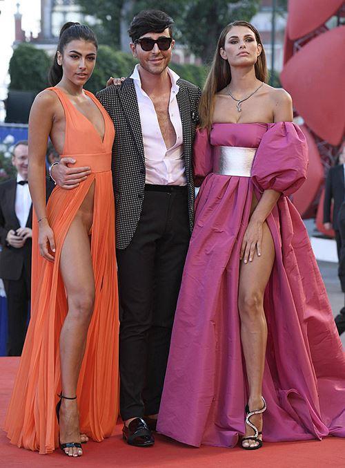 Modelos com roupas ousadas causaram no Festival de Veneza 2016 13