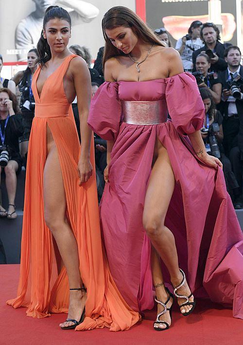 Modelos com roupas ousadas causaram no Festival de Veneza 2016 14