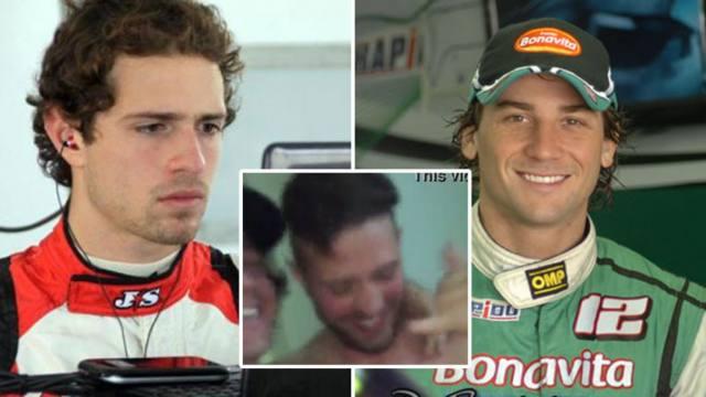 Polemica na Argentina com promotora na suruba com pilotos de corrida