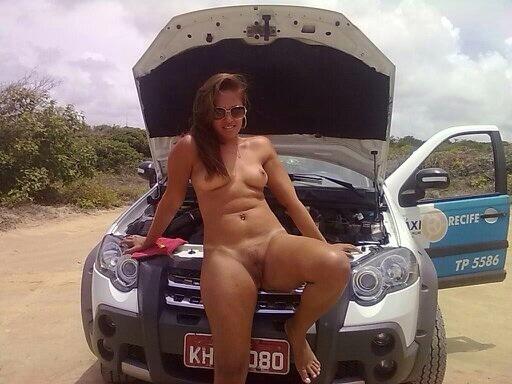 Gata e gostosa caiu na net com taxista de Recife