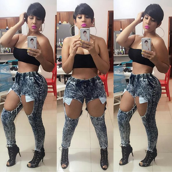 Ana carolina presentadora Dominicana mega gostosona 8