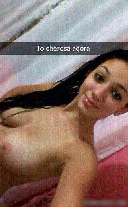 Priscila novinha pelada peituda linda caiu no Snapchat 20