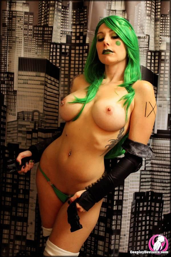 Squee Gynoid, a novinha cosplay muito gostosa 13