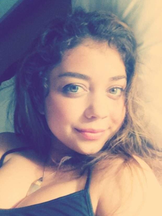Atriz Sarah Hyland nude caiu na net em fotos e video intimo