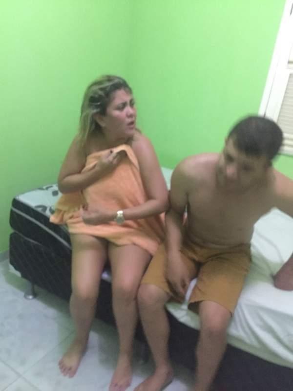 Vereadora de Ipueiras é pega no flagra com marido de amiga na cama e apanha Video 3