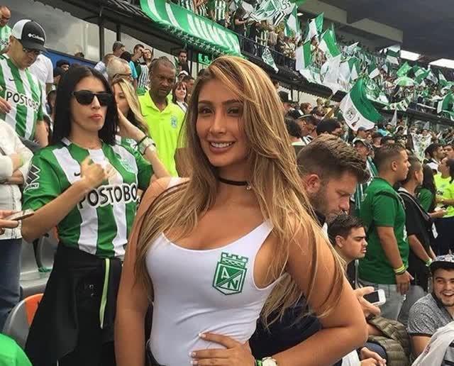 Fotos íntimas vazadas da Cindy Álvarez esposa de Mateus Uribe, meia do Atlético Nacional 4