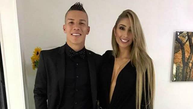 Fotos íntimas vazadas da Cindy Álvarez esposa de Mateus Uribe, meia do Atlético Nacional 7