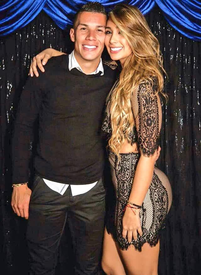 Fotos íntimas vazadas da Cindy Álvarez esposa de Mateus Uribe, meia do Atlético Nacional 8