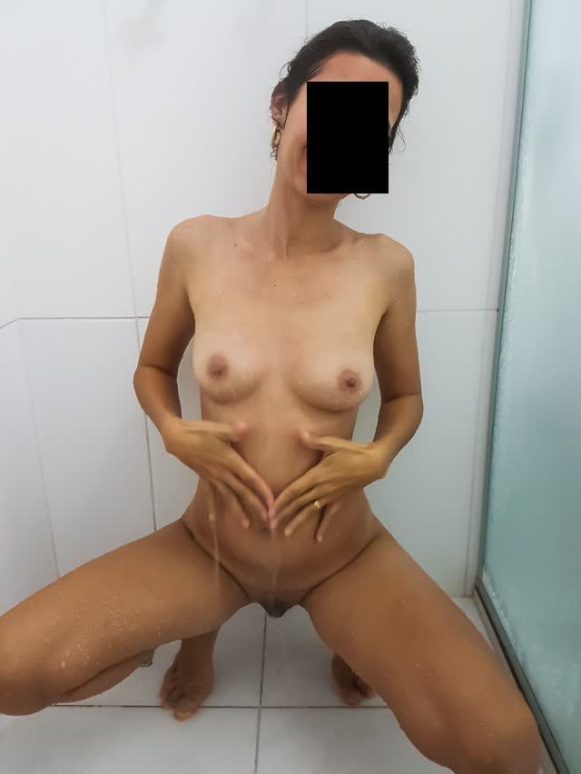 Fotos da esposa pelada tomando banho 7