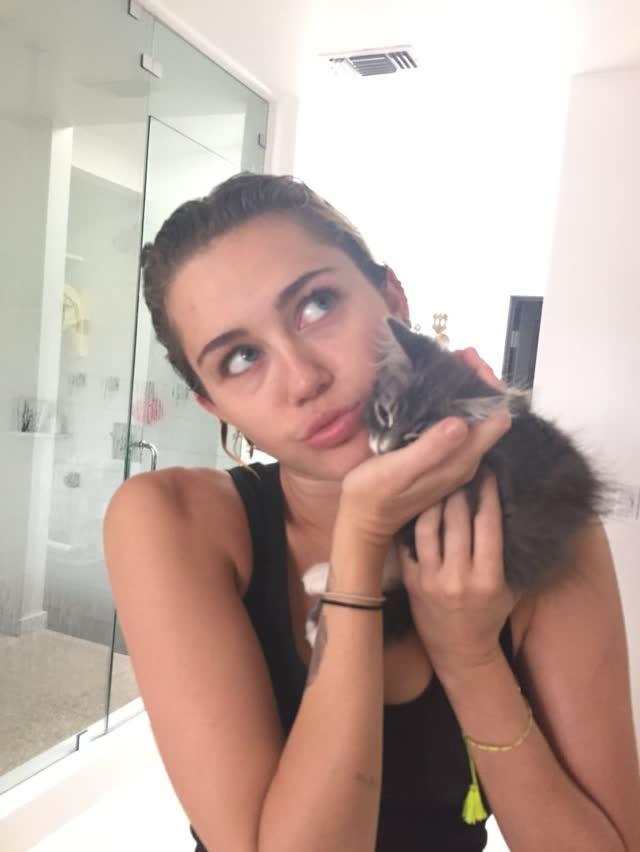 Miley Cyrus tem fotos intimas pelada vazadas por hacker confira 17