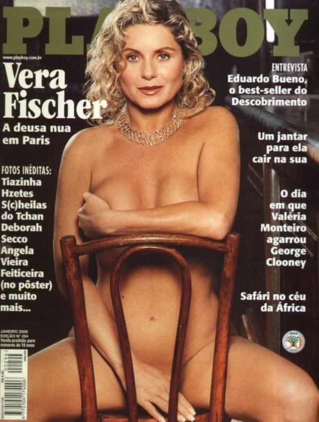 Fotos raras de Vera Fischer pelada para Playboy 1
