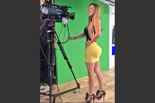 Diana Guerra apresentadora do tempo tem fotos intimas vazadas 20